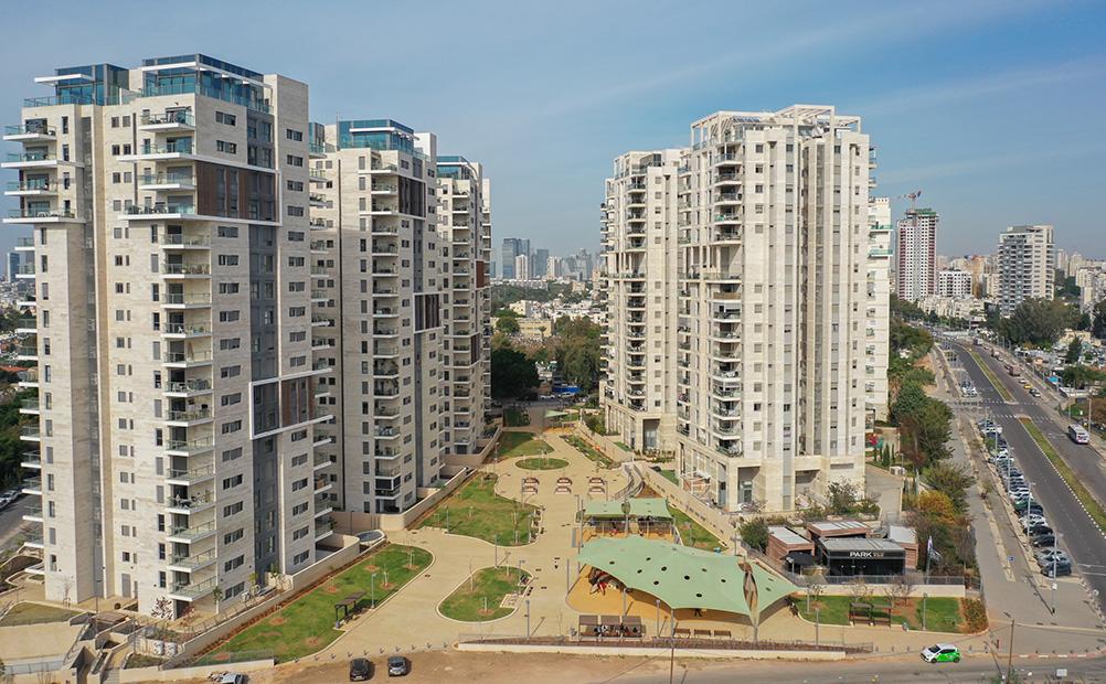 פארק תל אביב - הדמיה 1